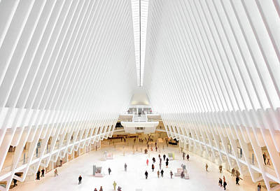 Painting - New York City World Trade Center Oculus by Christopher Arndt