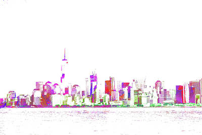 Digital Art - New York Cityscape 3 by Roger Lighterness