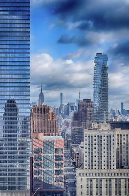 Photograph - New York Cityscape by Dyle Warren