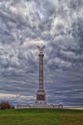 Photograph - New York Civil War Memorial by John M Bailey