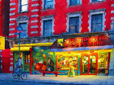 Digital Art - New York Colors 2 by Yury Malkov