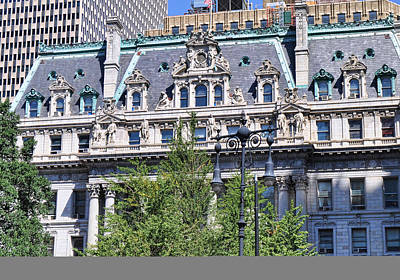 Photograph - New York County Building by Paulette B Wright