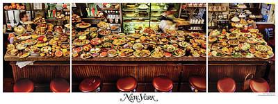 The New York Diner Art Print