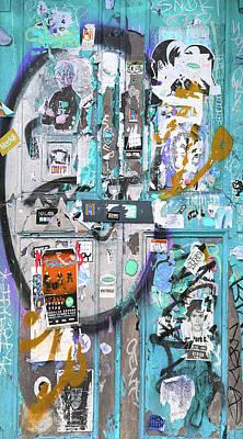 Lichtenstein Photograph - New York Door 1 by Tony Rubino