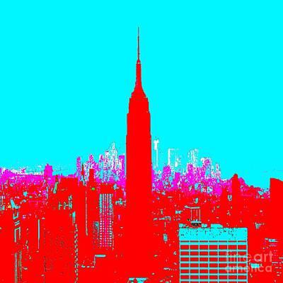 Eliso Digital Art - New York by Eliso Ignacio Silva