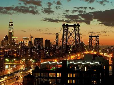 Photograph - New York from Williamsburg by Daniel Corry