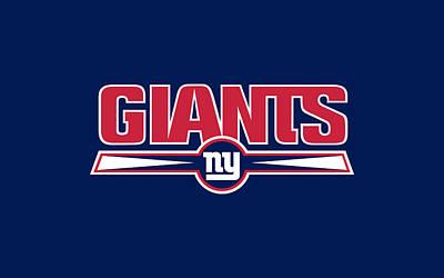 New York Giants Art Print