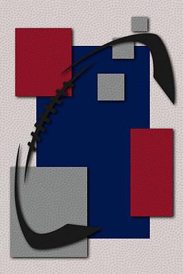 Football Painting - New York Giants Football Art by Joe Hamilton