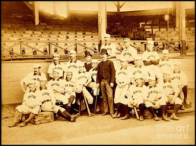 Photograph - New York Giants New York Baseball Club 1888 by Peter Gumaer Ogden Collection