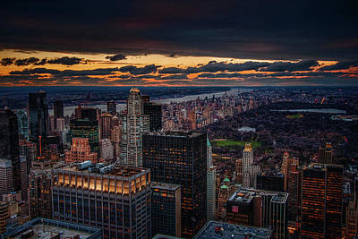 Photograph - New York Gold by Neil Shapiro