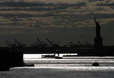 Photograph - New York Harbor Afternoon by Christopher Kirby