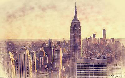 Statue Painting - New York-i Love You-10 by Nikolay Ivanov