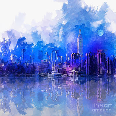 Painting - New York by Ian Mitchell