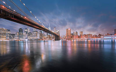 Photograph - New York by Jerome Obille
