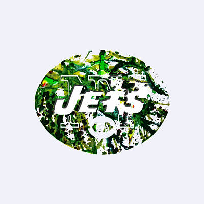 New York Jets Painting - New York Jets by Brian Reaves