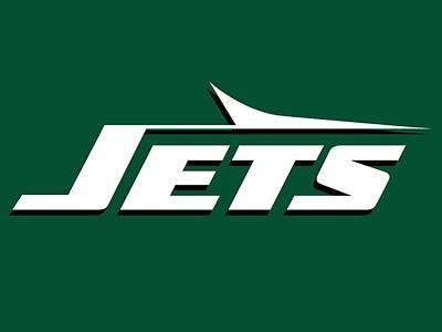 Nyc Digital Art - New York Jets by Maye Loeser