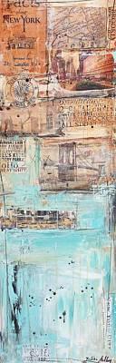 Painting - New York by Jolina Anthony