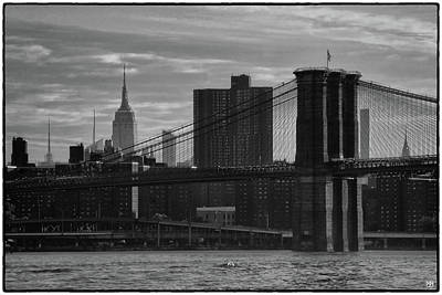 Photograph - New York Landmarks by John Meader