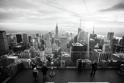 New York City Skyline Photograph - New York by Mariel Mcmeeking