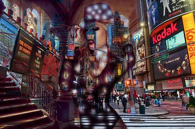 Mixed Media - New York New York by Marvin Blaine