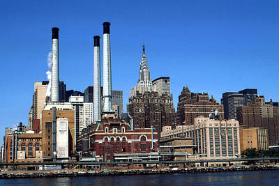 Photograph - New York Mid Manhattan Skyline by Peter Potter