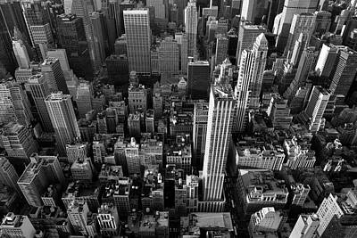 Photograph - New York, New York 5 by Ron Cline