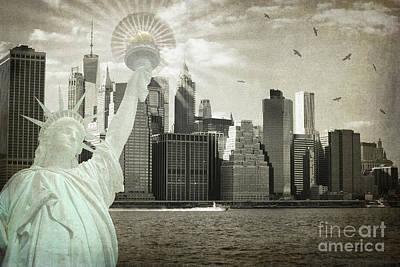 Photograph - New York New York Da by Judy Wolinsky