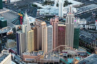 New York-new York Hotel And Casino Art Print