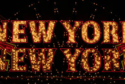 New York New York Art Print by Jason Williams
