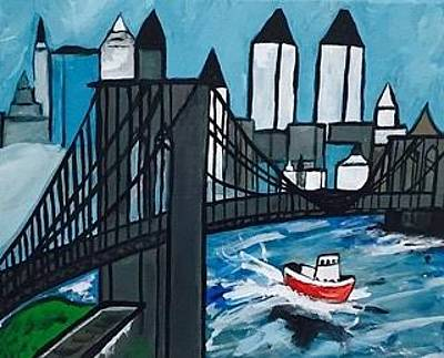 Painting - New York, New York by Jonathon Hansen