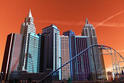 Photograph - New York New York Pop Art by John Rizzuto