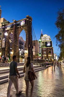 Photograph - New York New York Vegas  by John McGraw