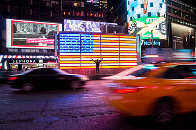 Fast Taxi Photograph - Freedom by Landon Spady