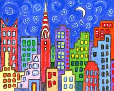 New York One Original by Linda Mears