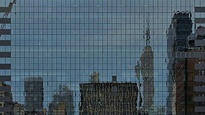 Photograph - New York Reflection 1 by Steven Richman