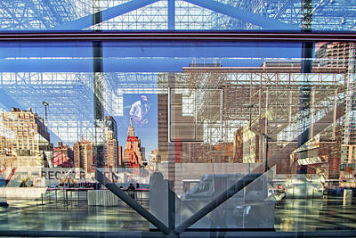 Photograph - New York Reflections by Alan Raasch