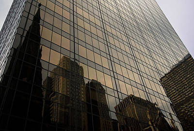 Photograph - New York Reflections by Paul Mangold