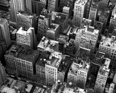 New York Rooftops Original by William  Todd
