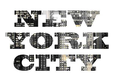 Photograph - New York Shapes Tee 092717 by Rospotte Photography