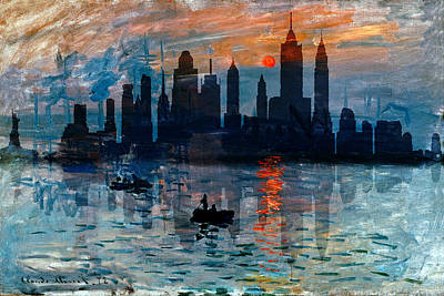 Photograph - New York Skyline 11 by Andrew Fare