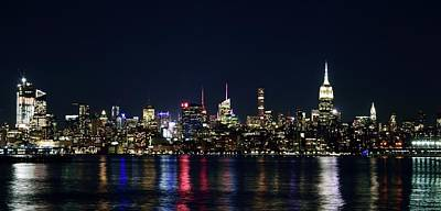 Photograph - New York Skyline by Daniel Carvalho