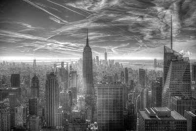 Photograph - New York Skyline by David Pyatt