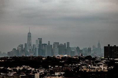 Photograph - New York Skyline Dusk by William Kimble