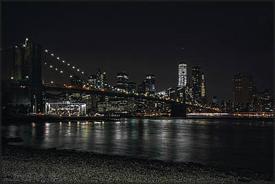 Photograph - New York Skyline by Erika Fawcett