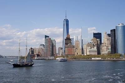 Photograph - New York Skyline by Flavia Westerwelle