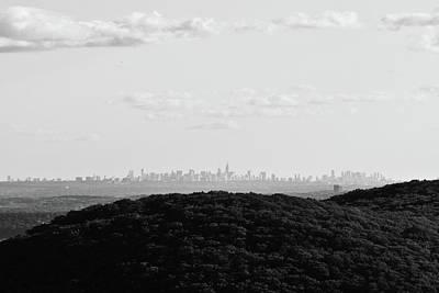 Photograph - New York Skyline From Afar by Jennifer Karon