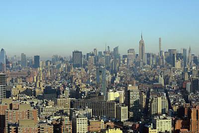 Photograph - New York Skyline by Harvey Barrison