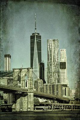 New York Skyline Art Print by Mike Burgquist