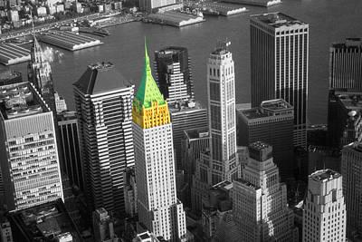 Photograph - Downtown Manhattan Skyline - New York Highlight by Art America Gallery Peter Potter