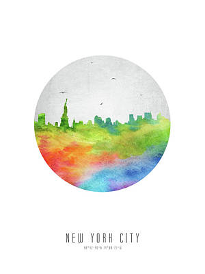 Cities Royalty-Free and Rights-Managed Images - New York Skyline USNYNY20 by Aged Pixel